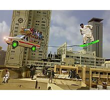 Karachi Skyboarding Competition Photographic Print