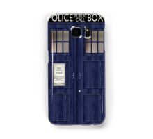 Doctor Who Police Box Samsung Galaxy Case/Skin