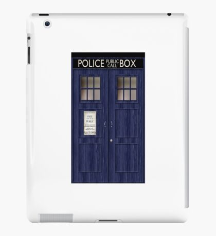 Doctor Who Police Box iPad Case/Skin