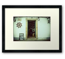Gourmet Food Shop  Framed Print