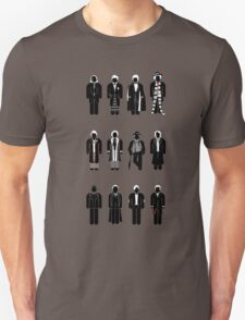 Timelord recognition guide - 12 Doctors Unisex T-Shirt