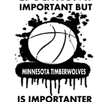 EDUCATION IS IMPORTANT - MINNESOTA TIMBERWOLVES by rajsf