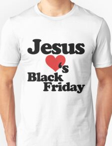 Jesus Loves Black Friday T-Shirt