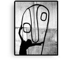 Big face hug Canvas Print