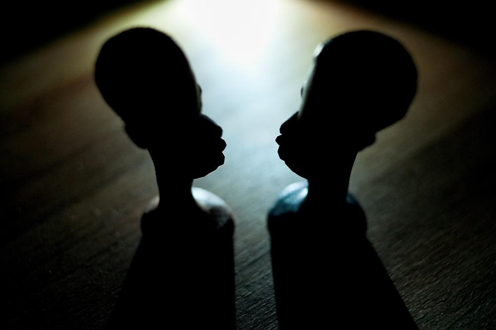Tanzanian Chess Pieces by Bjarte Edvardsen