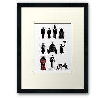 Doctor Who, 12th Doctor - season 8 Framed Print