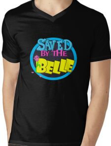 Saved by the Belle Mens V-Neck T-Shirt