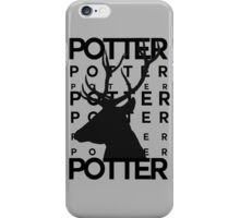 James Potter Animagus iPhone Case/Skin