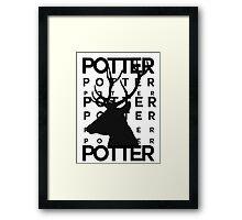 James Potter Animagus Framed Print