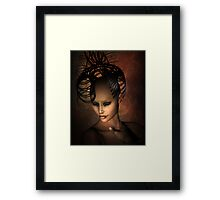 Beware the Ashtray Girl 2 Framed Print