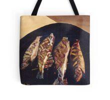 Fish BBQ Tote Bag