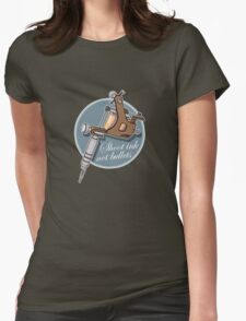 Shoot Ink Womens Fitted T-Shirt