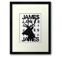 James Potter Animagus [#2] Framed Print