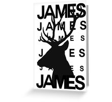James Potter Animagus [#2] Greeting Card
