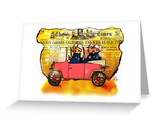 KeyStone Cops Greeting Card