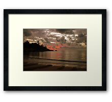 Alma Bay, Magnetic Island Framed Print