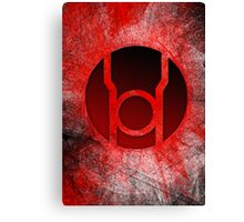 Red Lantern Poster v.1 Canvas Print