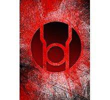 Red Lantern Poster v.1 Photographic Print