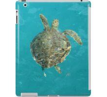 Swimming Turtle iPad Case/Skin
