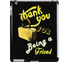 Thank you iPad Case/Skin