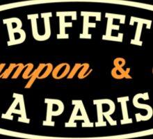 Buffet Sticker
