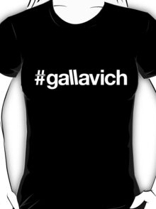 Gallavich WHT T-Shirt