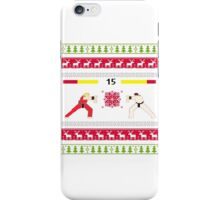 Christmas Fighter  iPhone Case/Skin