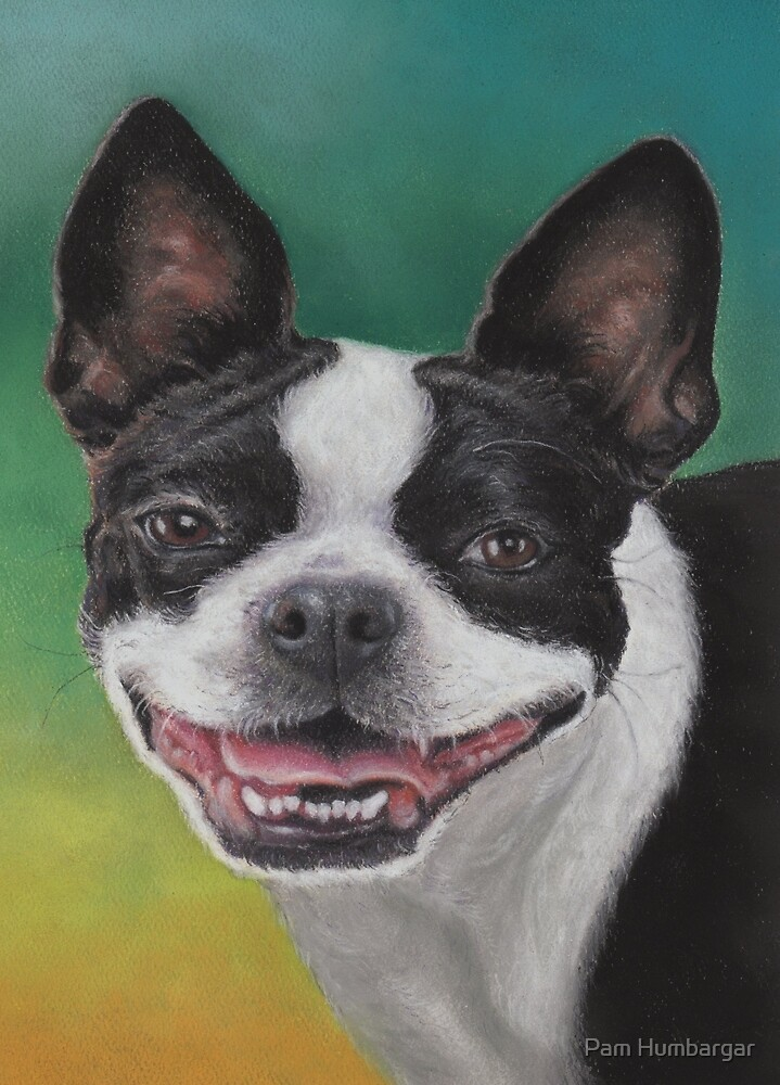 """""""Lady"""" with a Big Smile by Pam Humbargar"""