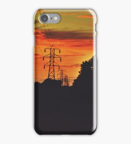 Lonely Wires iPhone Case/Skin