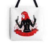 Black Widow Movie Tote Bag