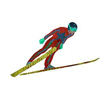 Ski Jumper by Louise Norman