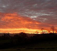 Thorpe Sunset by Rod Johnson