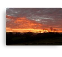 Thorpe Sunset Canvas Print