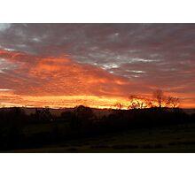 Thorpe Sunset Photographic Print