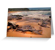 Drift Away - Warriewood Beach - Sydney Beaches - The HDR Series - Sydney Australia Greeting Card