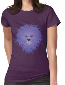 Lion face 8 Womens Fitted T-Shirt
