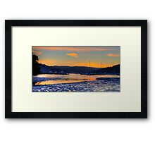 The Shallows - Pittwater - Sydney Beaches - The HDR Series, Sydney Australia Framed Print