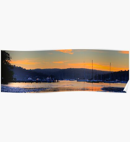 The Flats - Pittwater - The HDR Series Poster