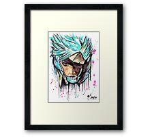 Metal Gear Solid Rising - RAIDEN - Grafitti art - T shirts + More Framed Print