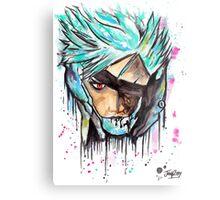 Metal Gear Solid Rising - RAIDEN - Grafitti art - T shirts + More Jonny2may Metal Print