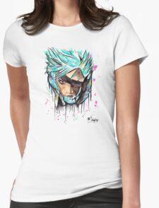 Metal Gear Solid Rising - RAIDEN - Grafitti art - T shirts + More Jonny2may T-Shirt