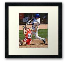 Wrong Sport Framed Print