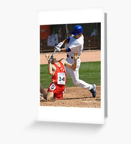 Wrong Sport Greeting Card