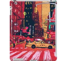 Summer Taxi iPad Case/Skin