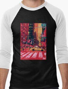 Summer Taxi Men's Baseball ¾ T-Shirt