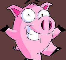 Pig Cartoon by Emme&Elle Italy