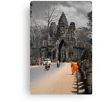 Gate to Angkor - Cambodia Canvas Print