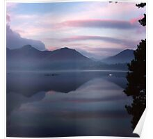 Catbells in the morning Poster