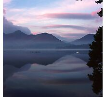 Catbells in the morning Photographic Print