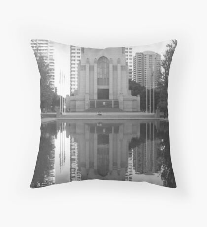 ANZAC War Memorial and Pool of Rememberance Throw Pillow